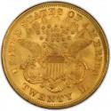 1868 Liberty Head Double Eagle Value