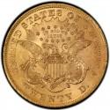 1873 Liberty Head Double Eagle Value