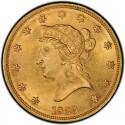 1839 Liberty Head $10 Gold Eagle