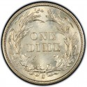 1899 Barber Dime Value