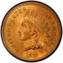 1872 Indian Head Pennies