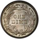 1914 Barber Dime Value