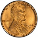 1944 Lincoln Wheat Pennies
