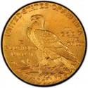 1911 Indian Head $5 Half Eagle Value