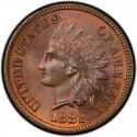 1882 Indian Head Pennies