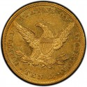 1844 Liberty Head $10 Gold Eagle Values
