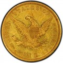 1838 Liberty Head $10 Gold Eagle Values