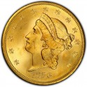 1856 Liberty Head Double Eagle