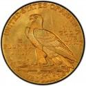 1909 Indian Head $5 Half Eagle Value