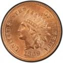 1869 Indian Head Pennies