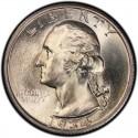 1934 Washington Quarter Value