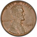 1947 Lincoln Wheat Pennies