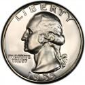 1955 Washington Quarter Value