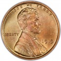 1919 Lincoln Wheat Pennies