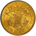 1860 Liberty Head Double Eagle Value