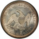 1843 Seated Liberty Silver Dollar Values