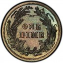 1915 Barber Dime Value