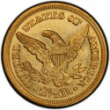1848 Liberty Head $2.50 Gold Quarter Eagle Coin values