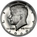 1969 Kennedy Half Dollar Value