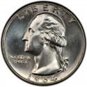 1964 Washington Quarter Value