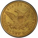 1845 Liberty Head $10 Gold Eagle Values