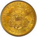 1852 Liberty Head Double Eagle Value