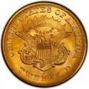 1865 Liberty Head Double Eagle Value