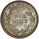 1907 Barber Dime Value