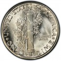 1927 Mercury Dime Value