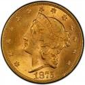1875 Liberty Head Double Eagle