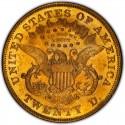 1871 Liberty Head Double Eagle Value