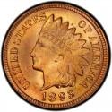 1893 Indian Head Pennies