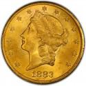 1883 Liberty Head Double Eagle
