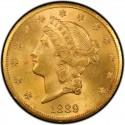 1889 Liberty Head Double Eagle