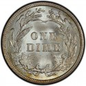 1909 Barber Dime Value