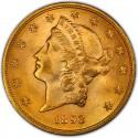 1893 Liberty Head Double Eagle
