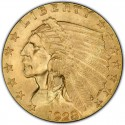 1928 Indian Head $2.50 Quarter Eagle