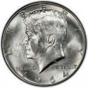 1964 Kennedy Half Dollar Value