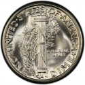 1929 Mercury Dime Value