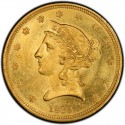 1839 Liberty Head Half Eagles