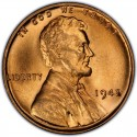 1942 Lincoln Wheat Pennies