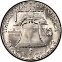 1957 Franklin Half Dollar Value