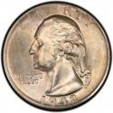 1942 Washington Quarter Value