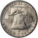 1954 Franklin Half Dollar Value