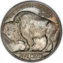 1921 Buffalo Nickel Dollar