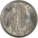1918 Mercury Dime Value