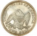 1853 Seated Liberty Silver Dollar Values
