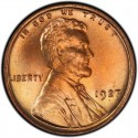 1927 Lincoln Wheat Pennies