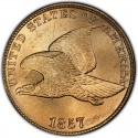 1857 Flying Eagle Pennies