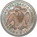 1869 Seated Liberty Silver Dollar Values